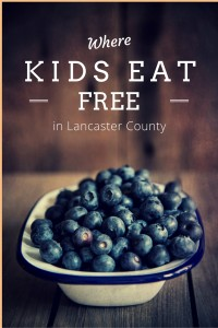 Kids Eat FREE in Lancaster County