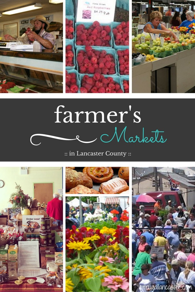 Lancaster County Farmer's Markets