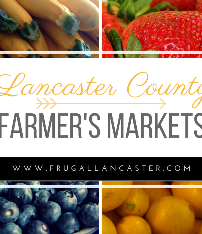 Lancaster County Farmers Markets