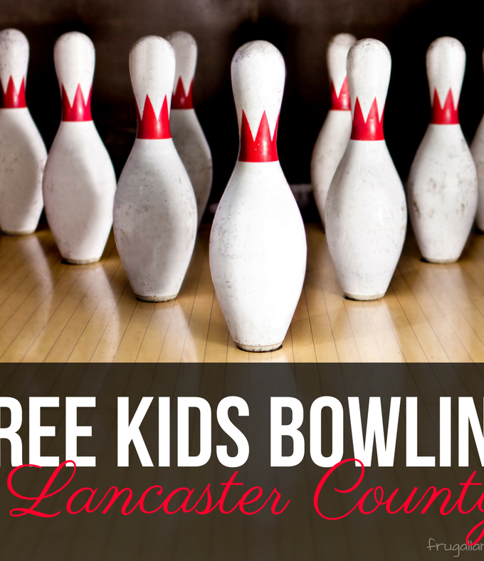 Kidz FREE Bowling Clubs in Lancaster County