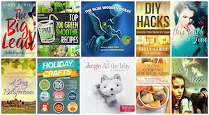 FREE Kindle Books on Holiday Crafts, Decluttering Your Home and Green Smoothie Recipes