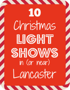 lancaster county christmas light shows