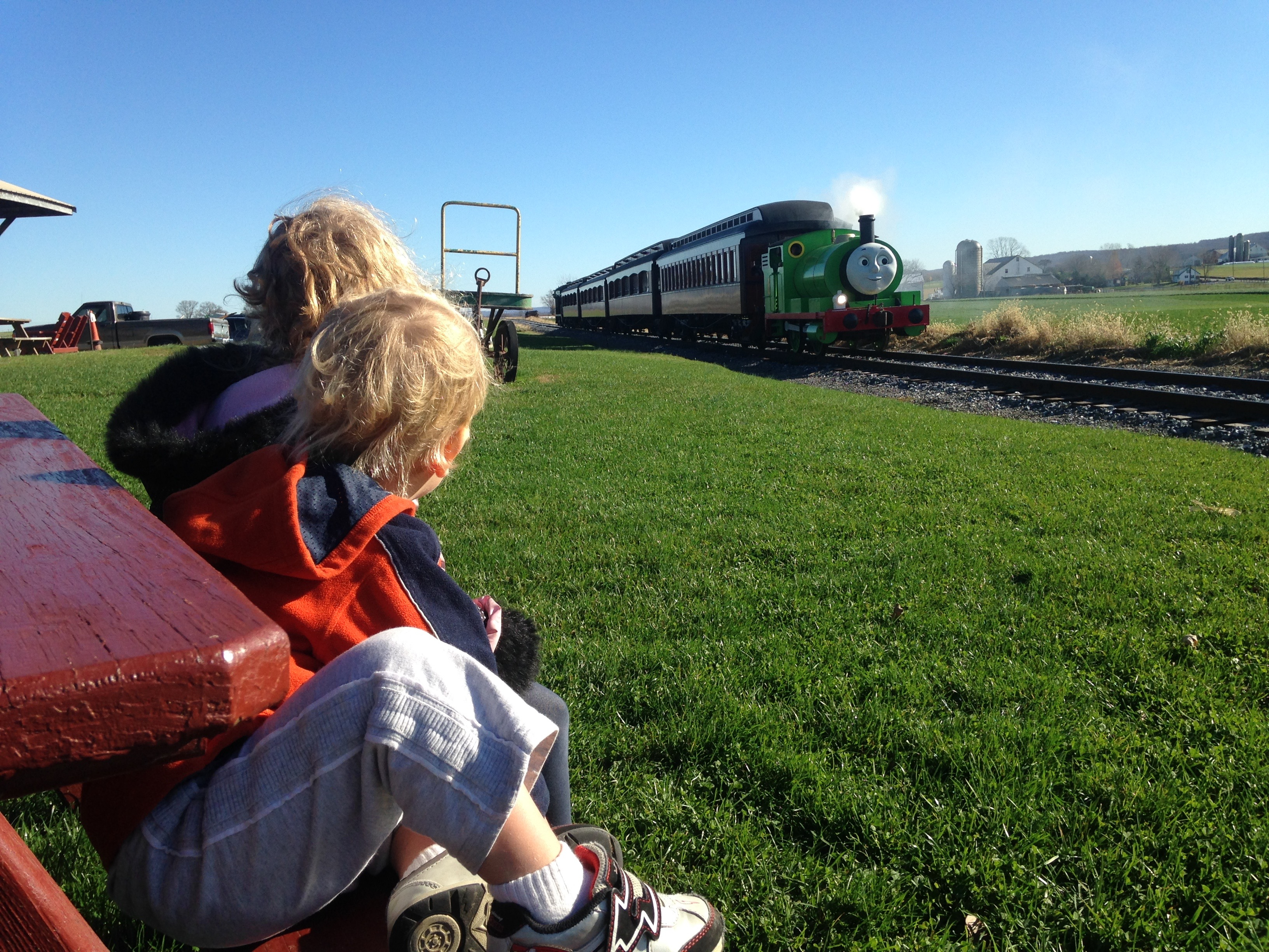 thomas the train at strasburg railroad