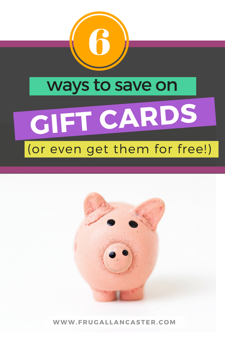 Secrets to Saving Money on Gift Cards