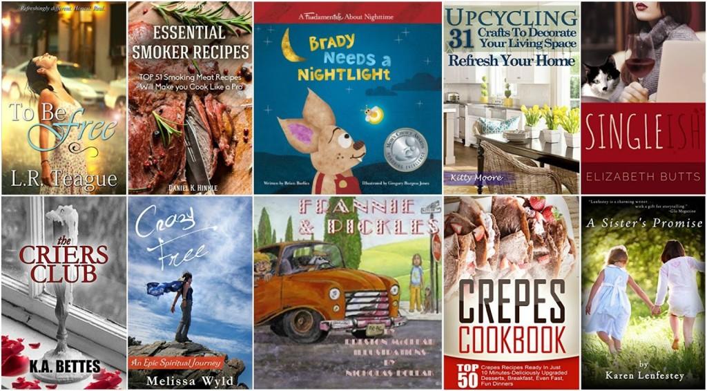 10 Free Kindle Books 1-15-16