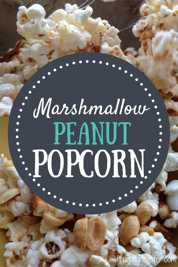 Marshmallow Peanut Popcorn: Easy Enough to Do With Kids (and toddlers too!)