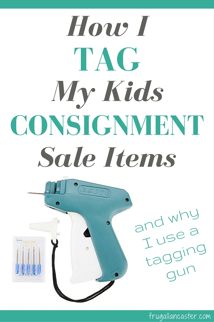 My First JBF Kids Consignment Sale: How I Tagged My Clothes and Why I Decided to Buy a Tagging Gun