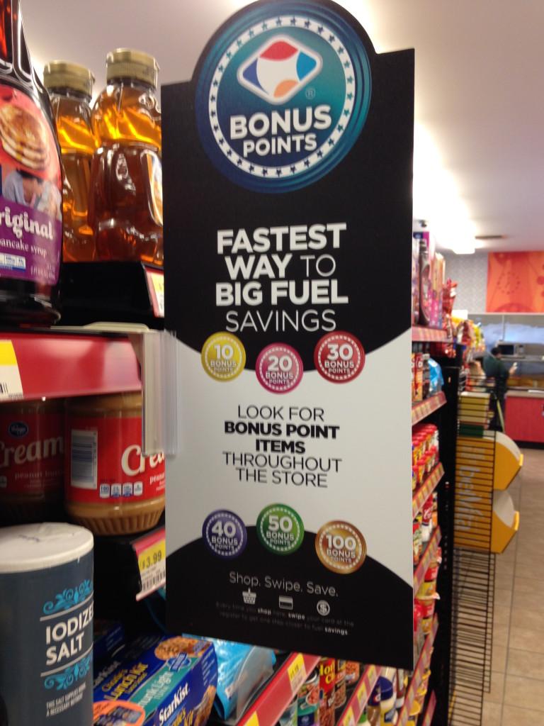 turkey hill bonus points big fuel savings