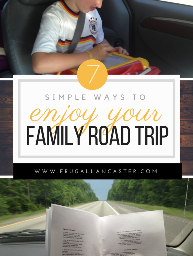 6 Simple Ways To Enjoy A Family Road Trip (without losing it!)