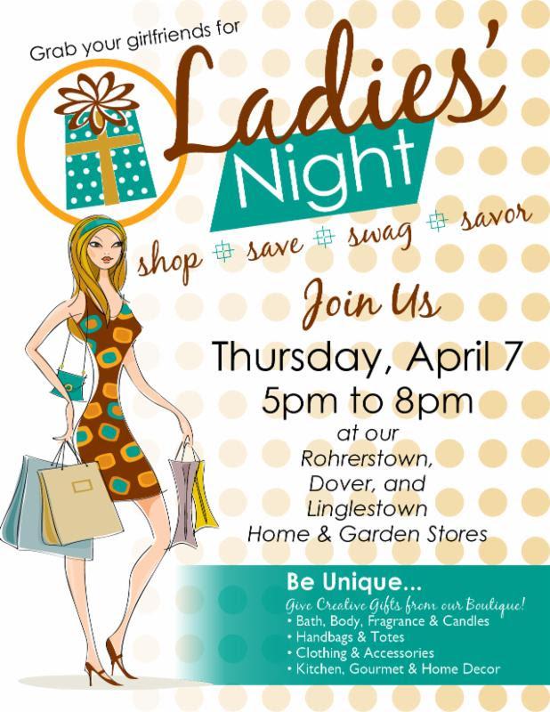 Stauffer's Ladies Night