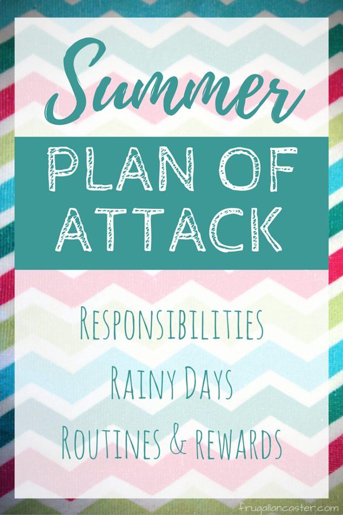 Summer Plan of Attack