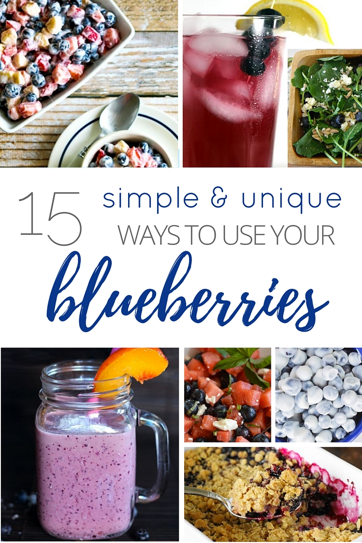 15 Simple & Unique Ways To Use Your Blueberries