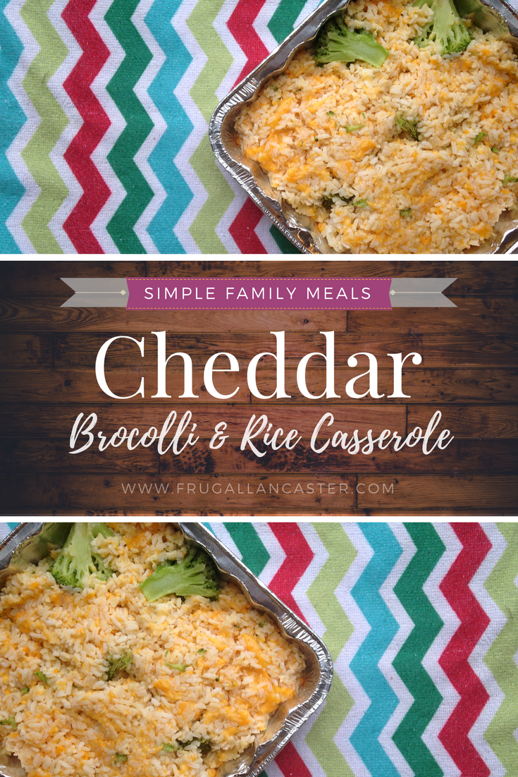 Cheddar Broccoli Rice Casserole and Freezer Cooking with a Preschooler