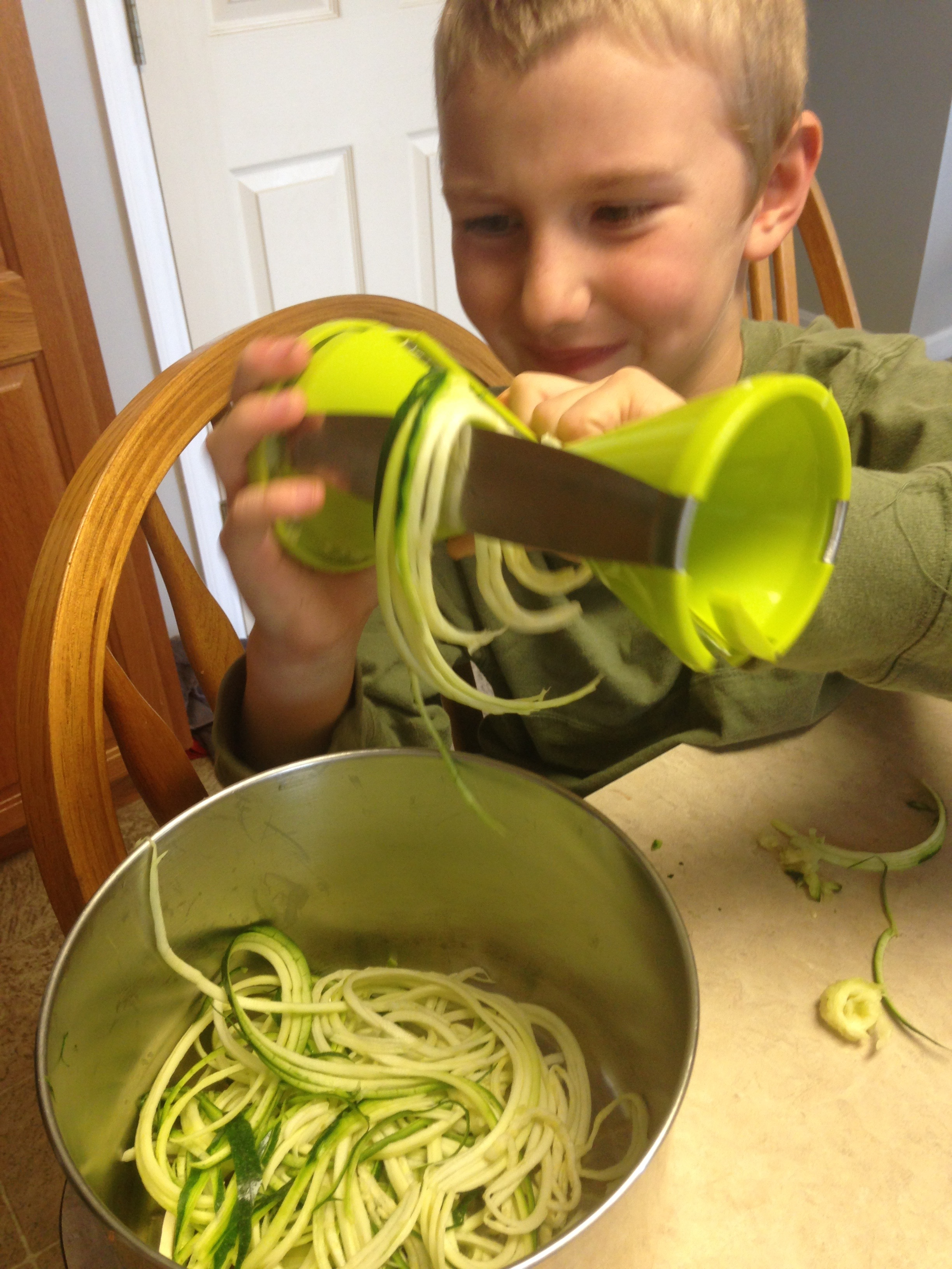 A New Zucchini Recipe {Simple Enough To Try With Kids}