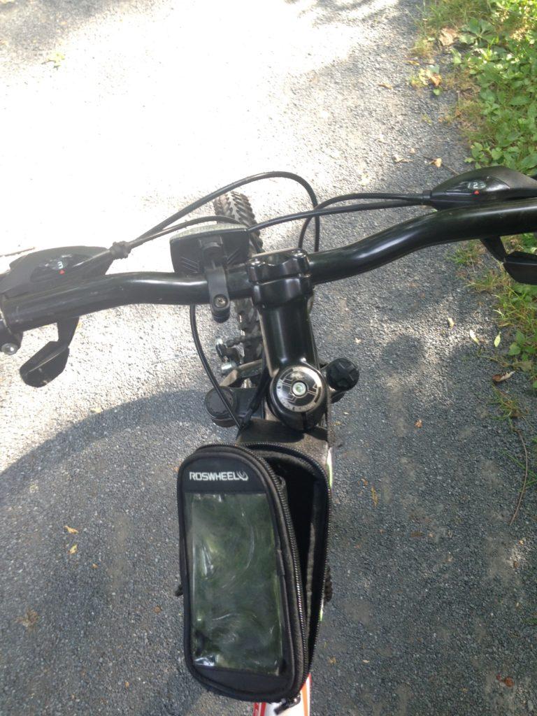 roswheel bicycle cell phone bag
