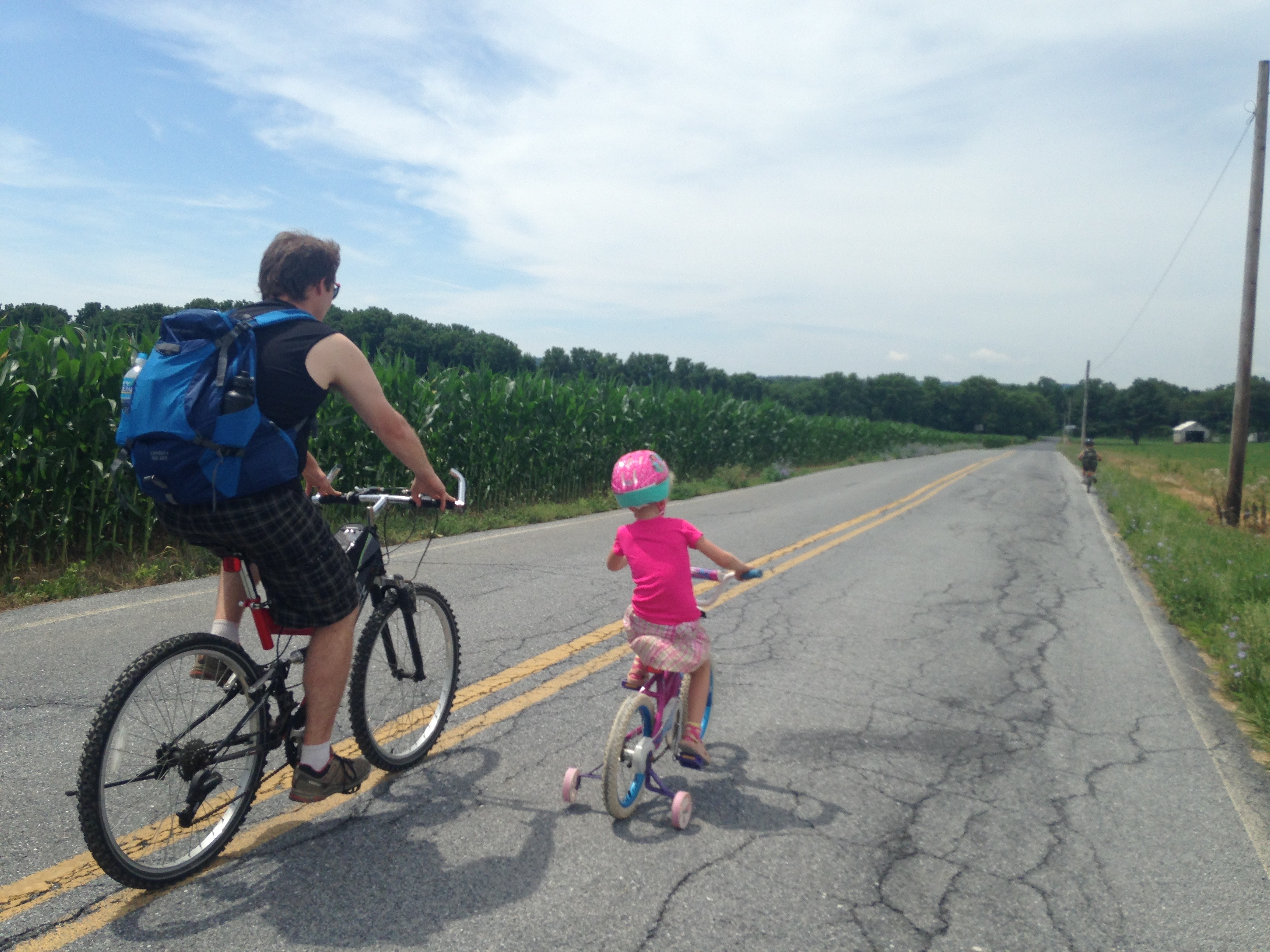 riding lebanon valley rails to trails with kids