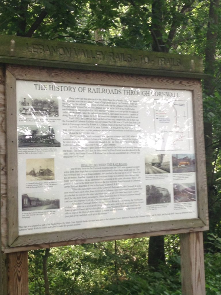 lebanon valley rails to trails learning history with kids