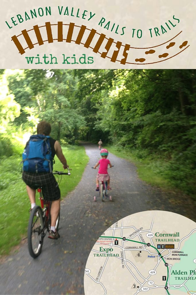 Bicycle Riding the Lebanon Valley Rails to Trails with Kids