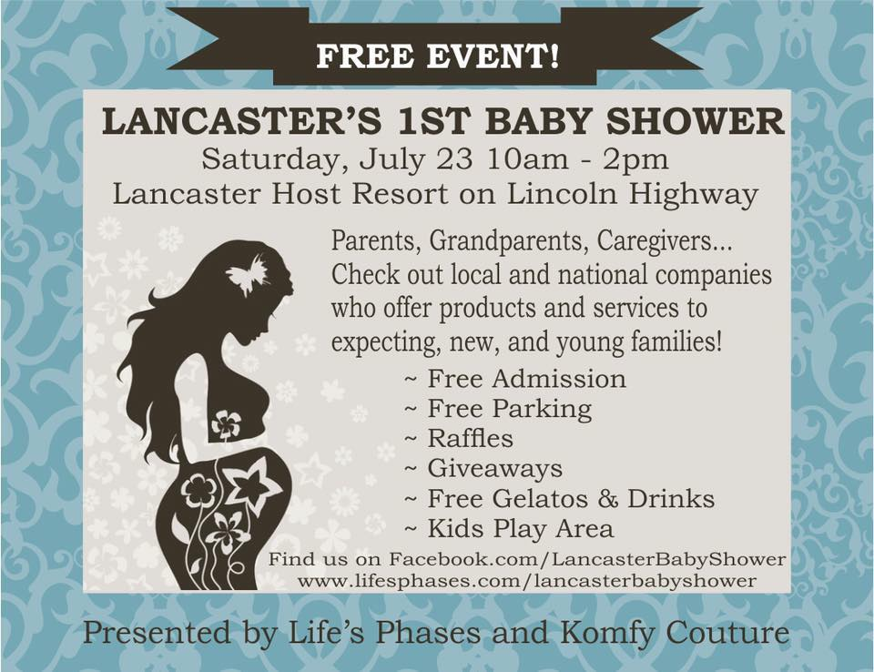 Lancaster's First Baby Shower