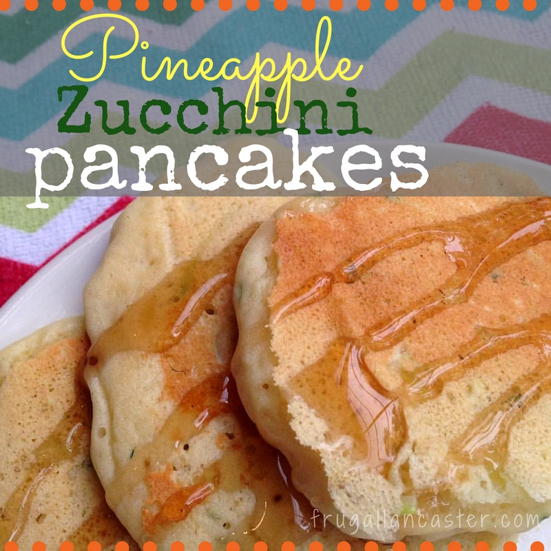 Simply Heavenly Zucchini Pineapple Pancakes