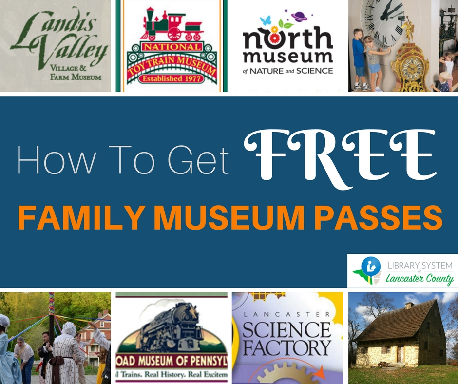 FREE FAMILY MUSEUM PASSES