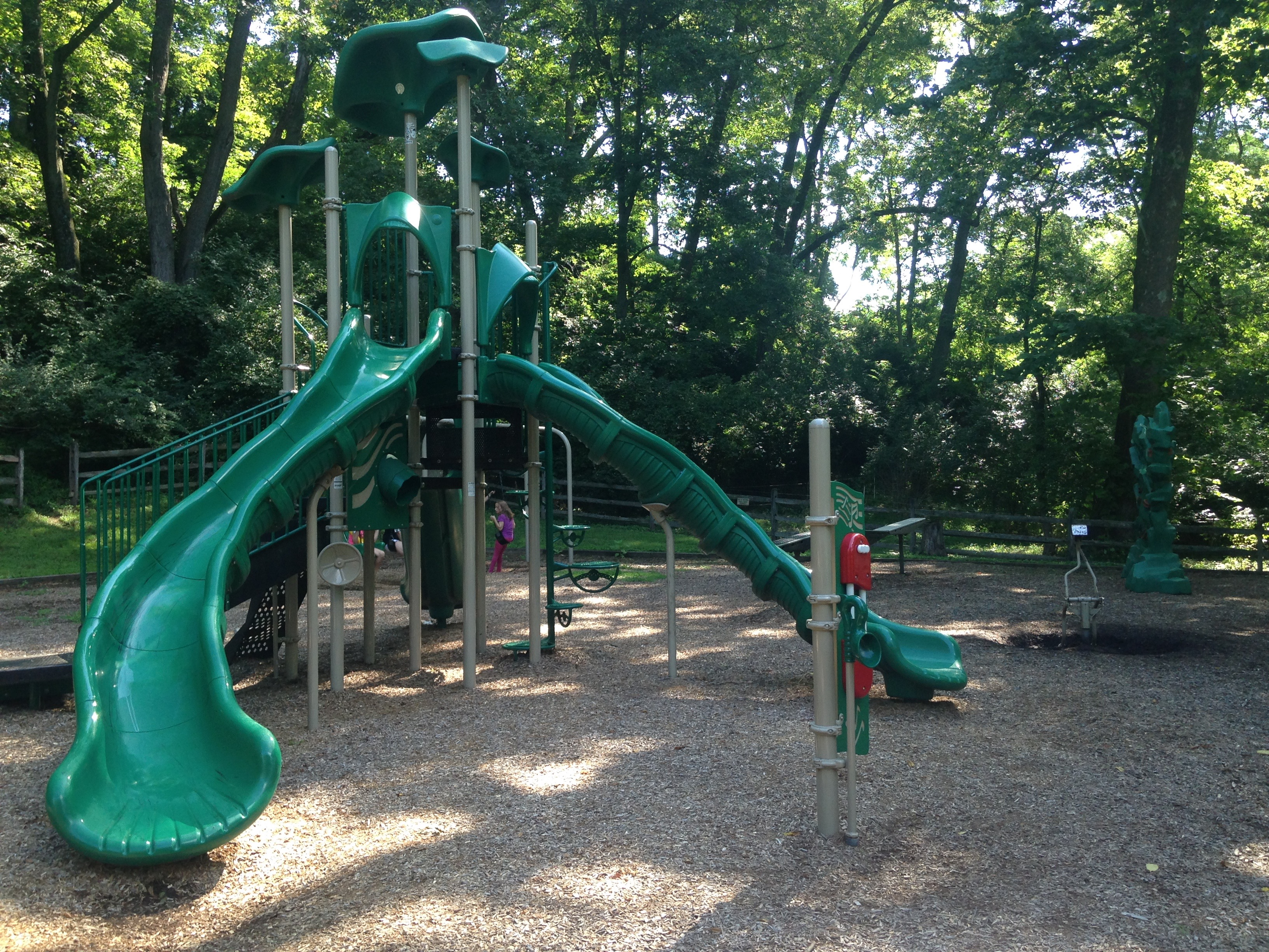 A Hidden Playground at Historic Pool Forge Park in Narvon, PA