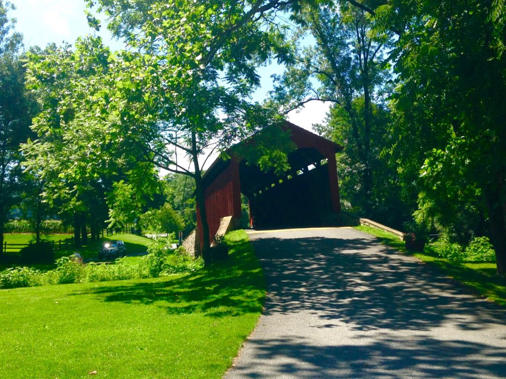 poole forge playground covered bridge