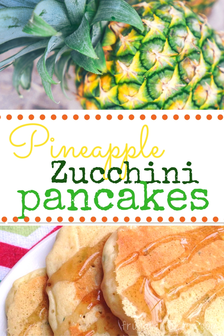 Simply Heavenly Pineapple Zucchini Pancakes