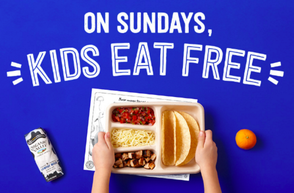 free kids meal chipotle september
