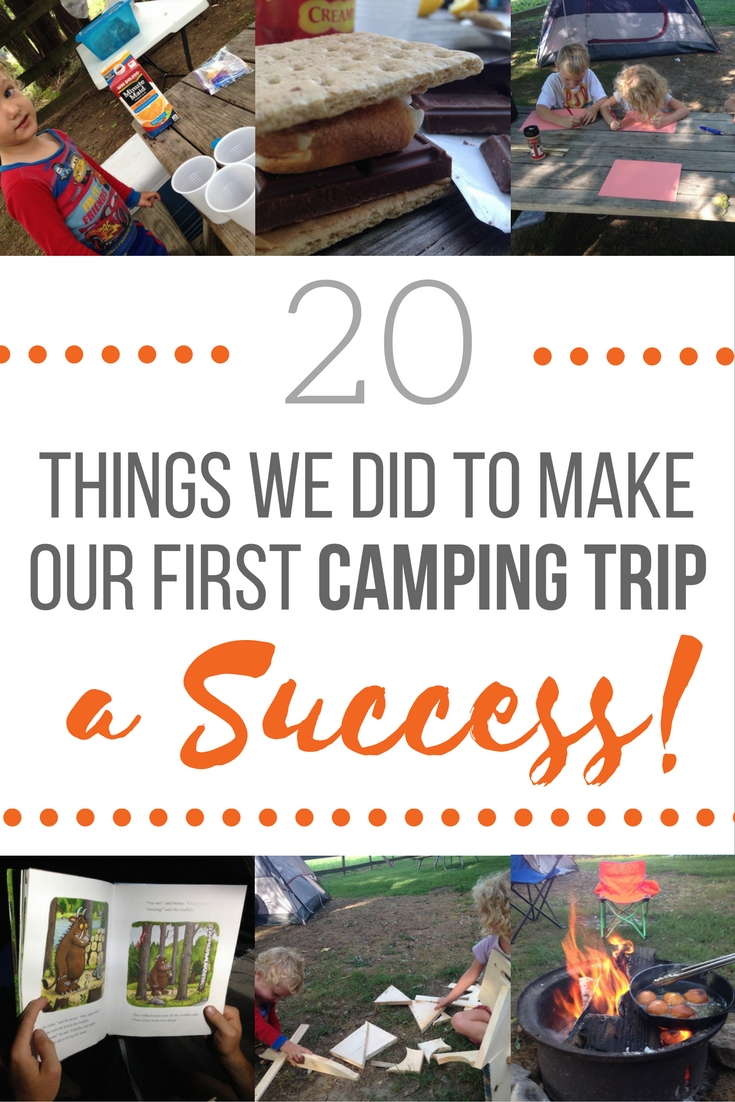 20 Things We Did To Make Our First Camping Trip With Kids a Success