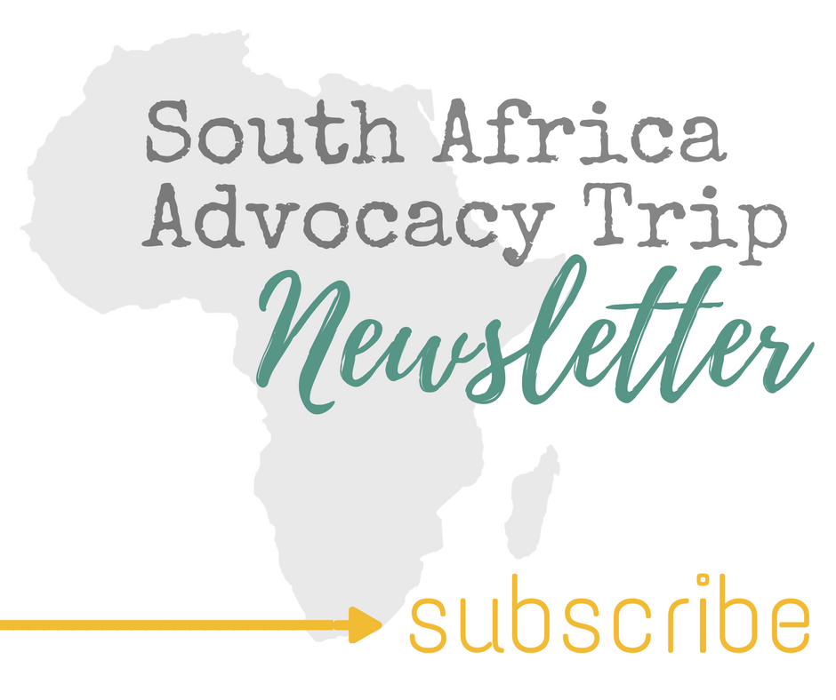 south africa trip newsletter