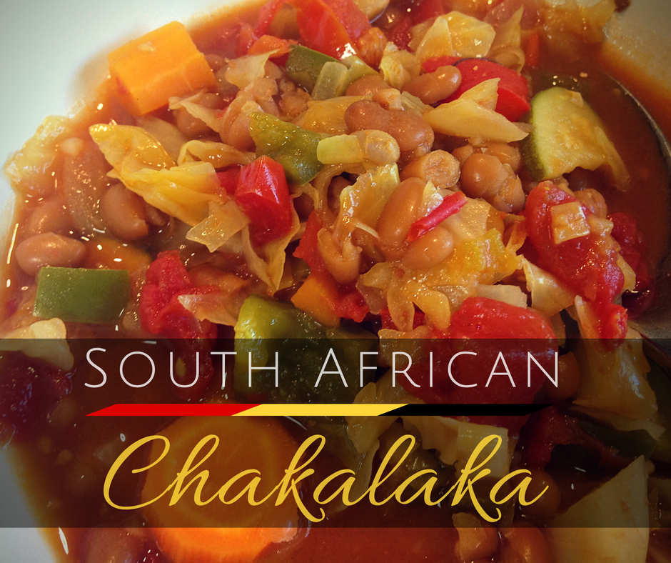 "My ""Americanized"" Version of South African Chakalaka"