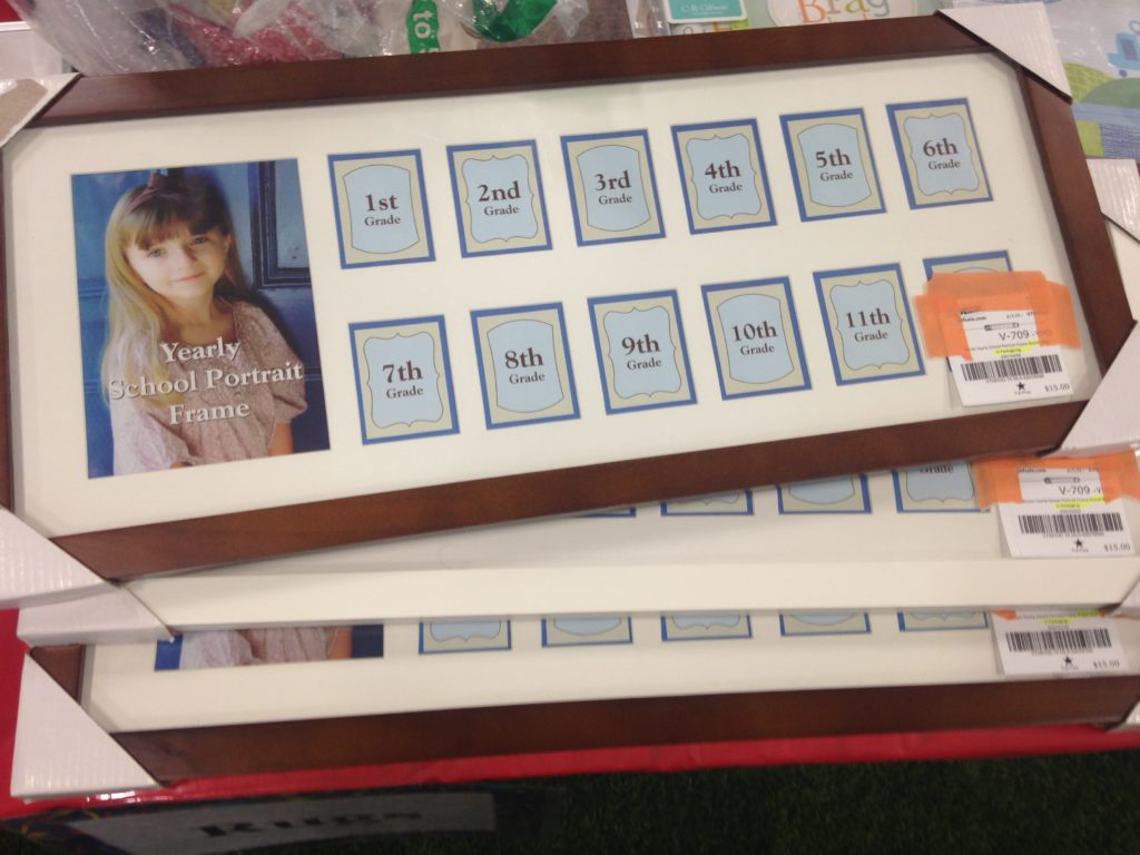 consignment sale photo frame