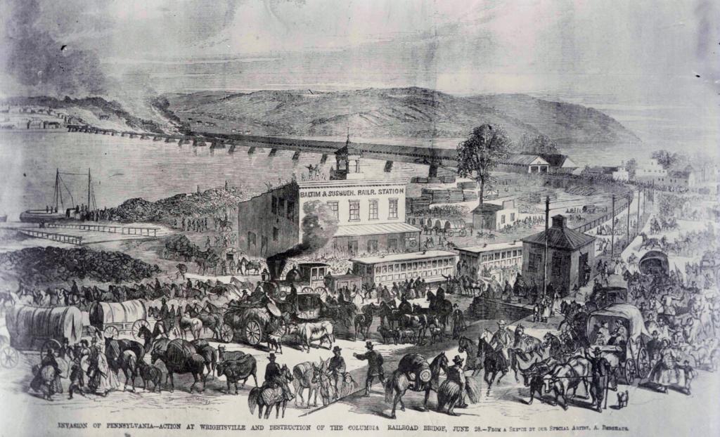 livinghistory.org civil war encampment
