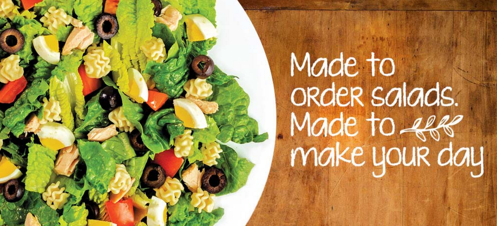FREE Salad to First 30 Customers at SaladWorks on Friday, September 30, 2016