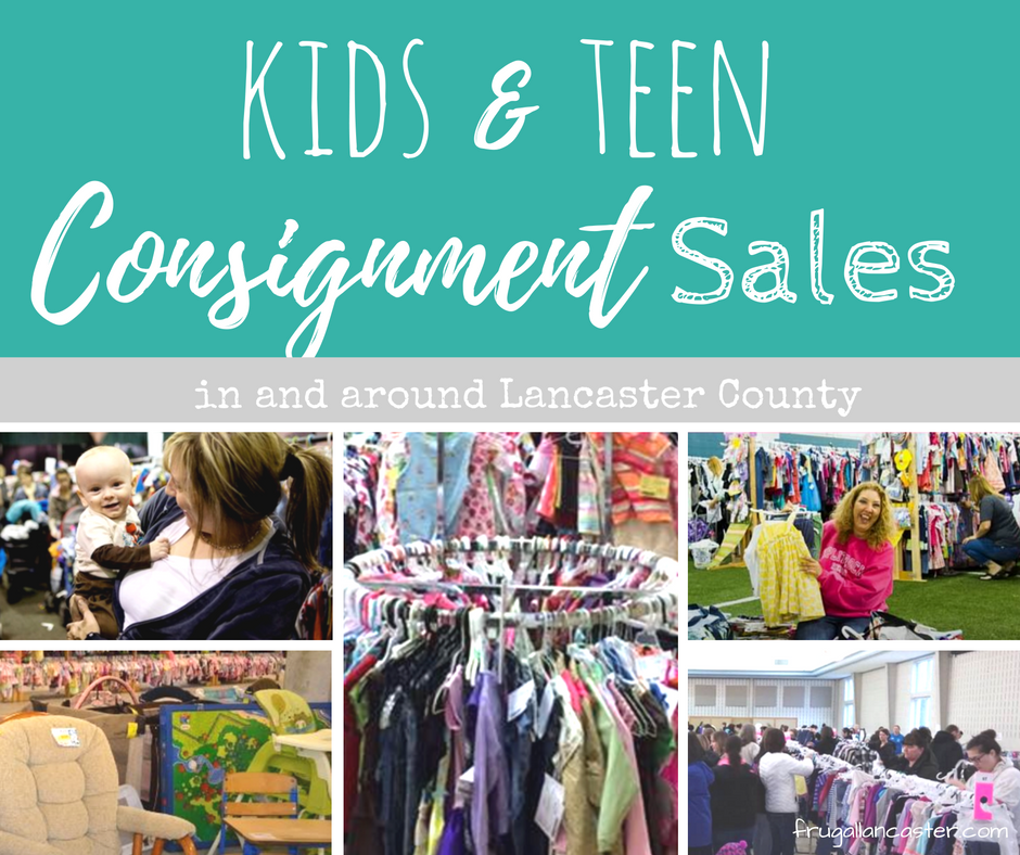 kids and teen consignment sales in lancaster county