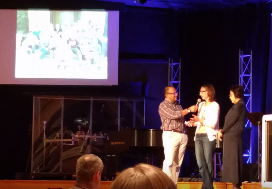 speaking at grace church about south africa