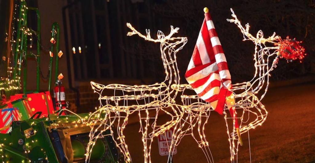 kennett square holiday lights parade