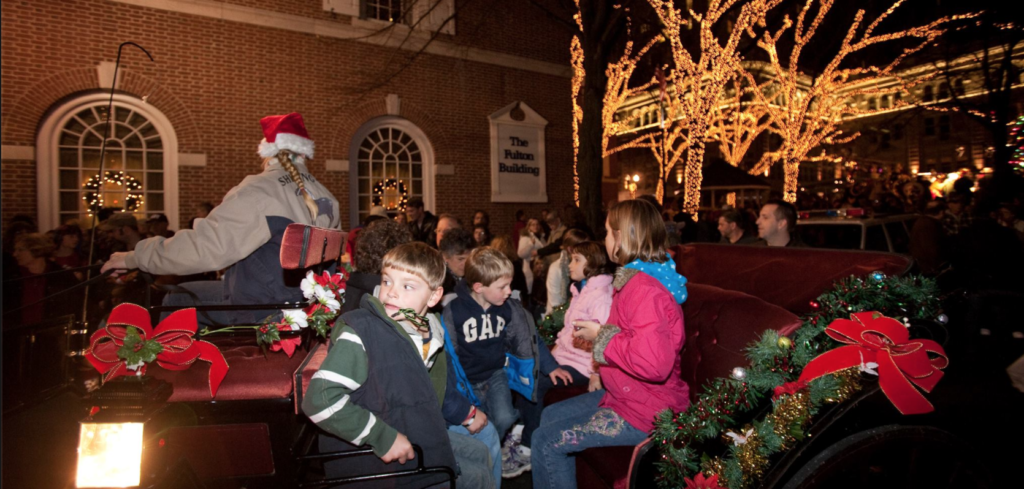horse drawn carriage christmas rides lancaster