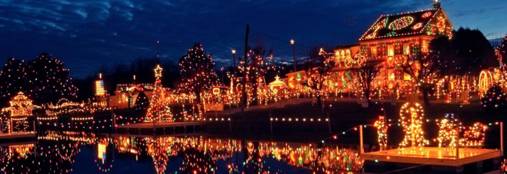 koziar's village christmas lights