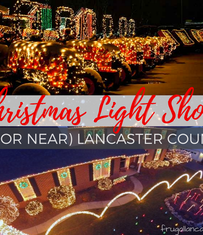 Christmas Light Shows in (or near) Lancaster