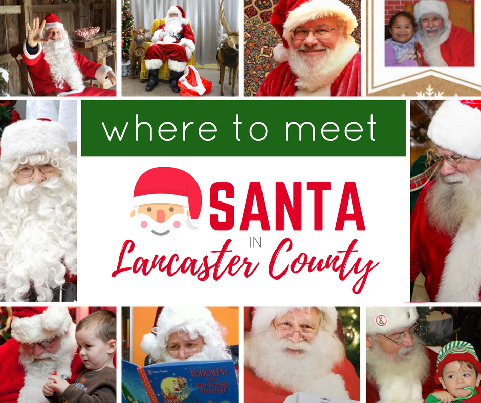 Where to Meet Santa in Lancaster County {2016}