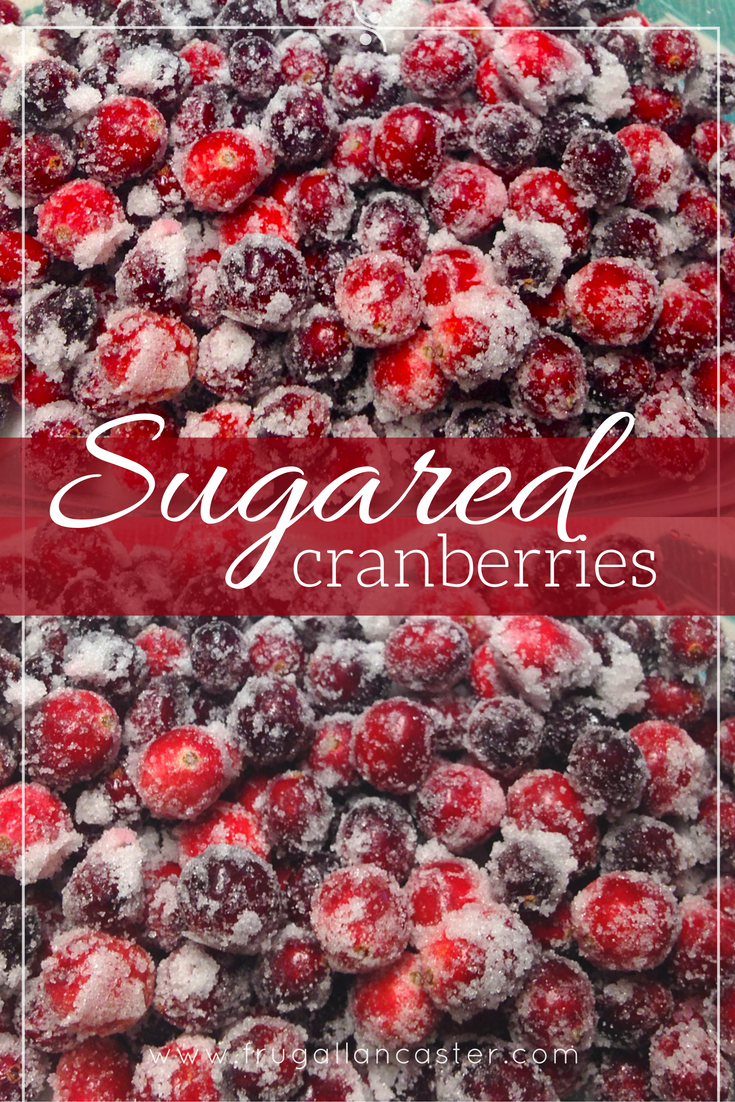 Sugared Cranberries {A Crowd-Pleasing Thanksgiving and Christmas Holiday Recipe}