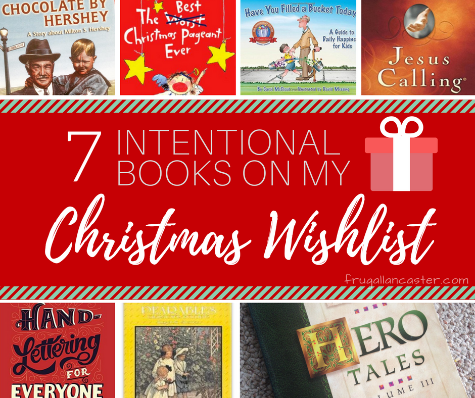 7 Intentional Books on My Wish List