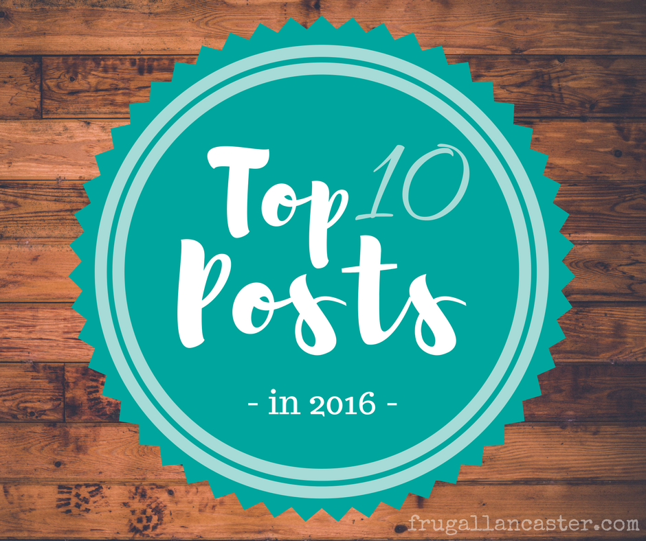 Top 10 Posts in 2016