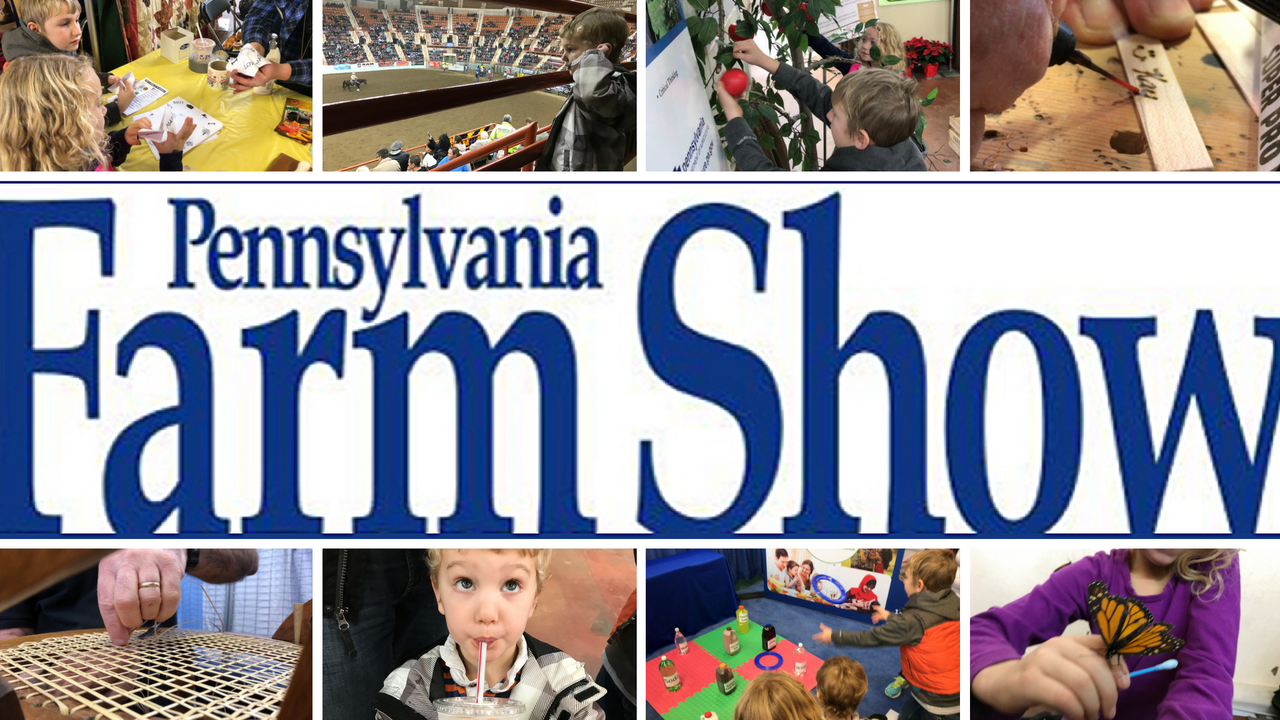 Our Family Trip to the PA State Farm Show