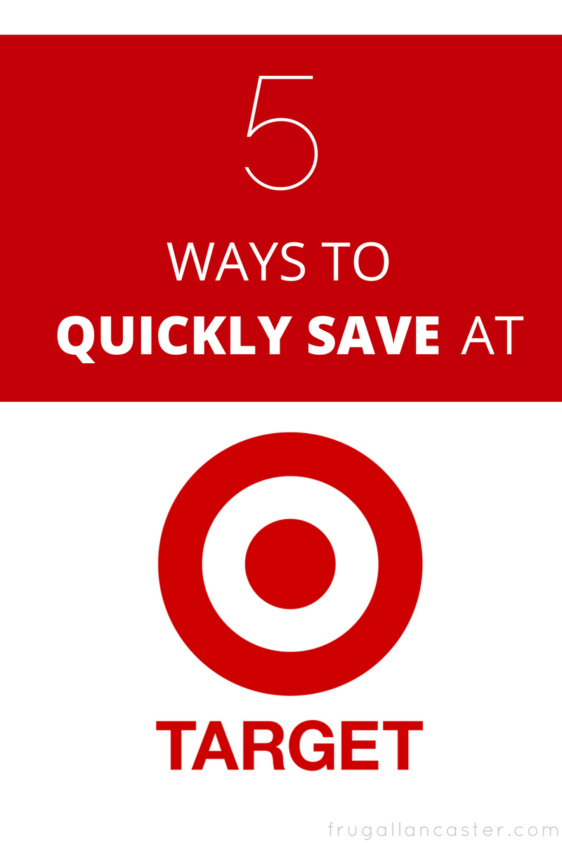 5 Ways to Quickly Save at Target
