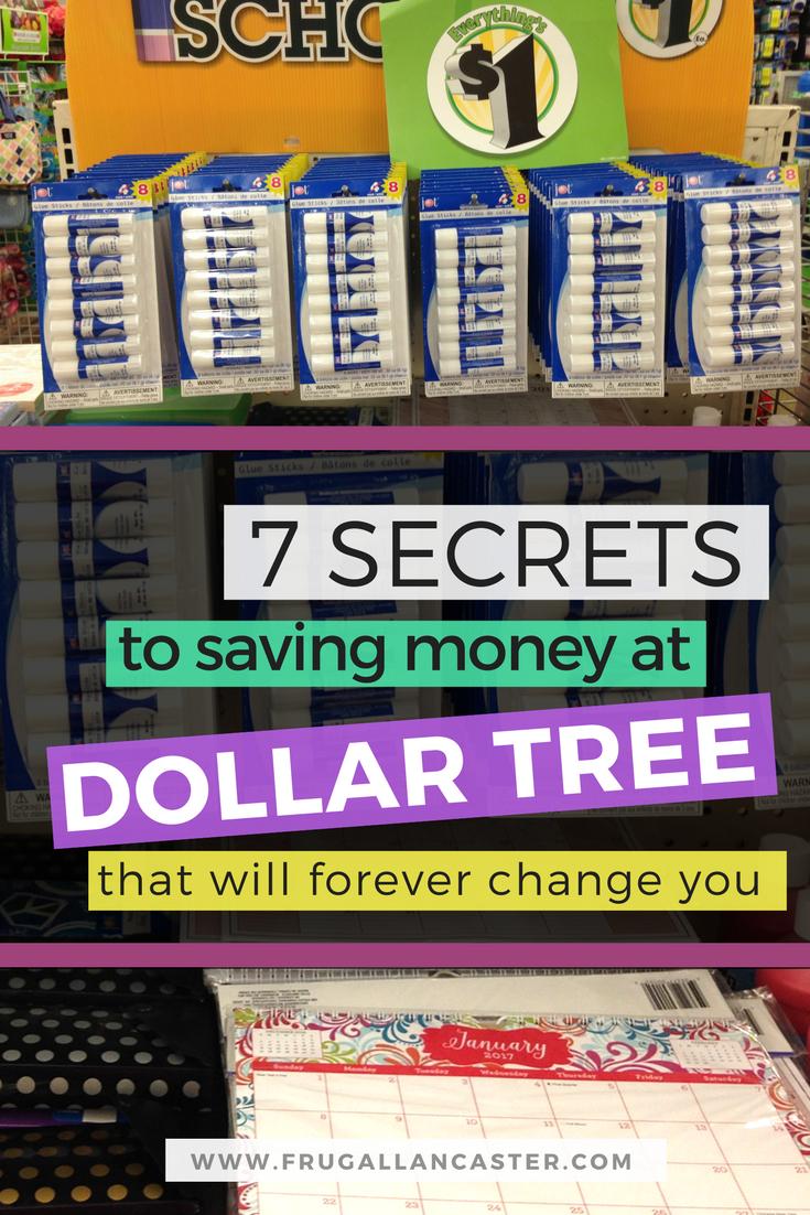 7 Secrets to Saving Money at Dollar Tree