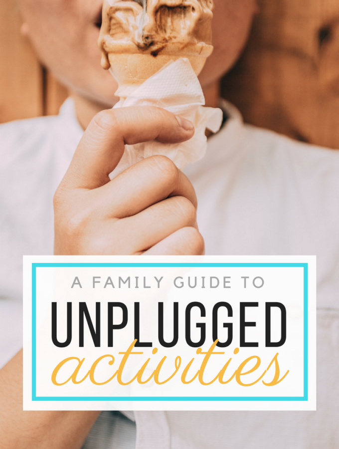 A Family Guide to Unplugged Activities