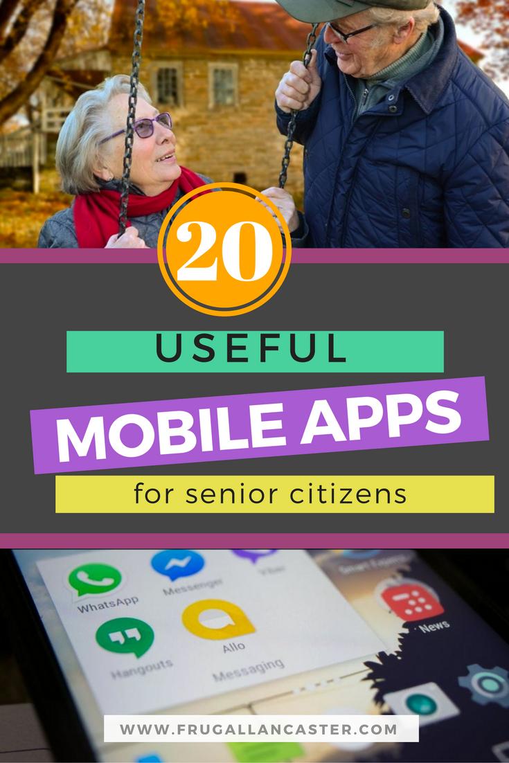 20 Mobile Apps That Senior Citizens Will Love
